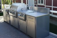 Stainless Steel Outdoor Kitchens Steelkitchen with dimensions 1466 X 1256