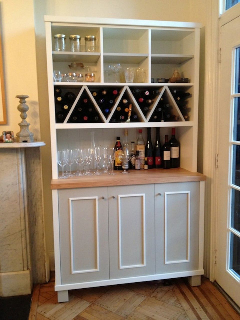 Wine Storage In Kitchen Cabinets Cabinet Ideas