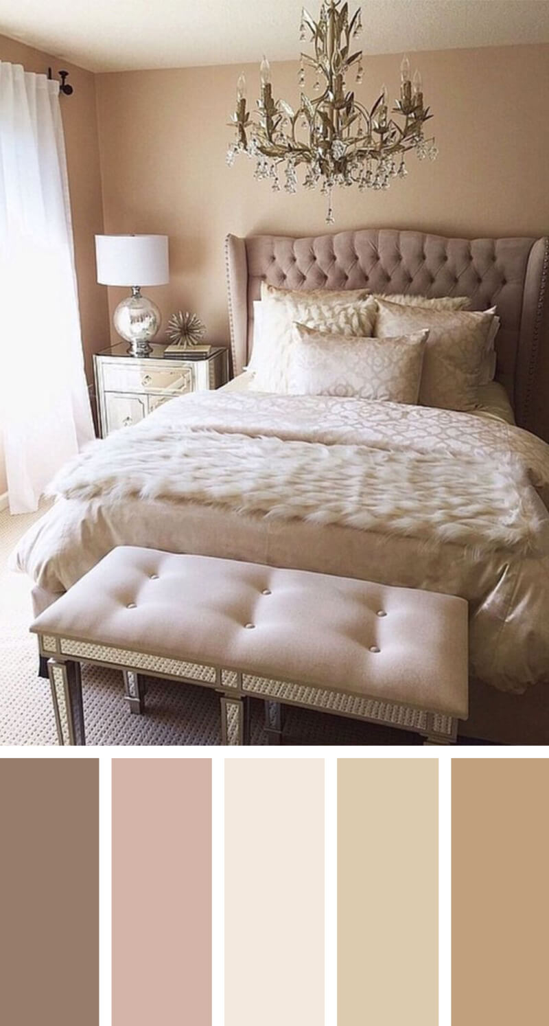 12 Best Bedroom Color Scheme Ideas And Designs For 2019 regarding measurements 800 X 1494