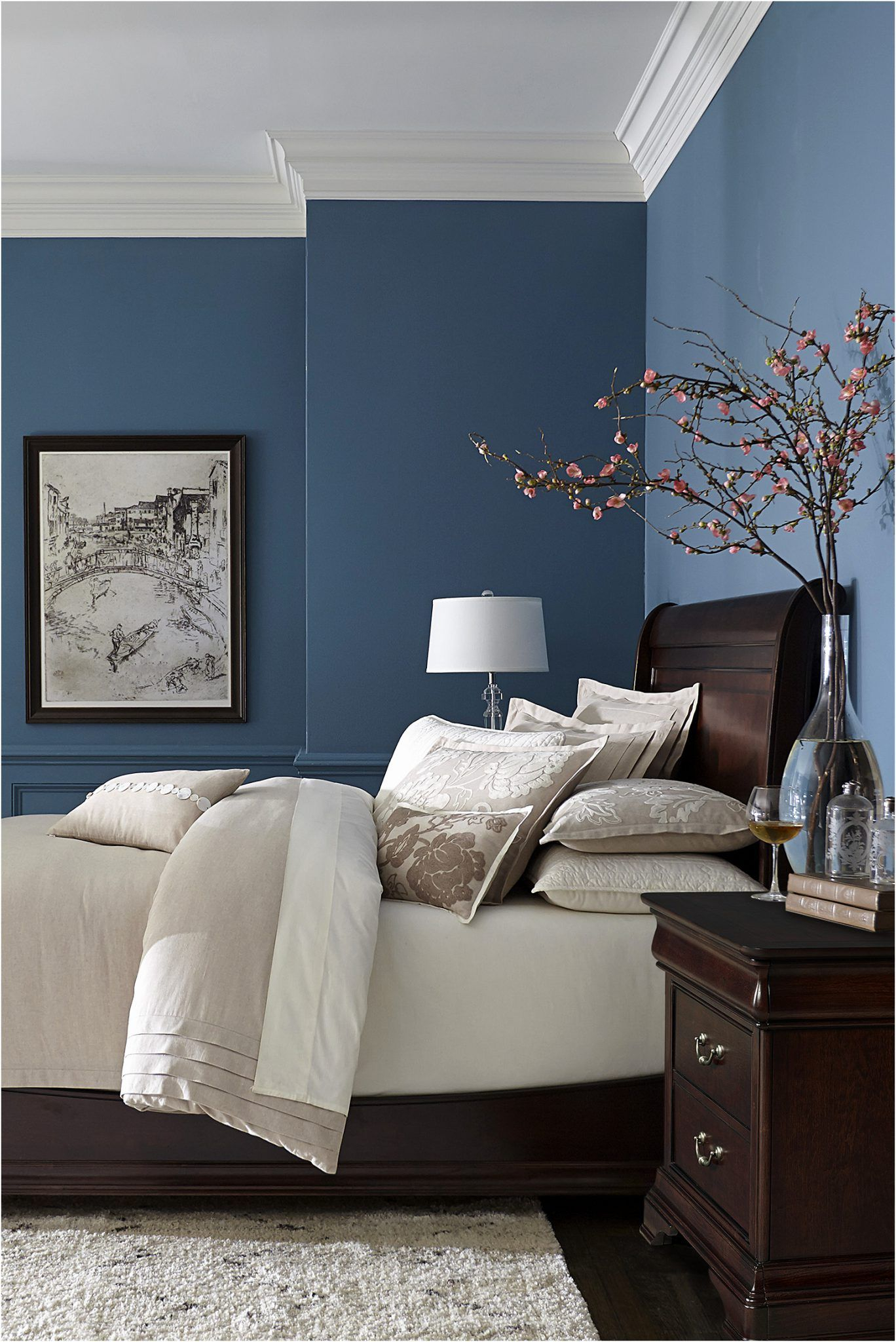 32 Blue Paint Colors For Bedroom 2018 Dreamhouse Blue Bedroom intended for proportions 1368 X 2048