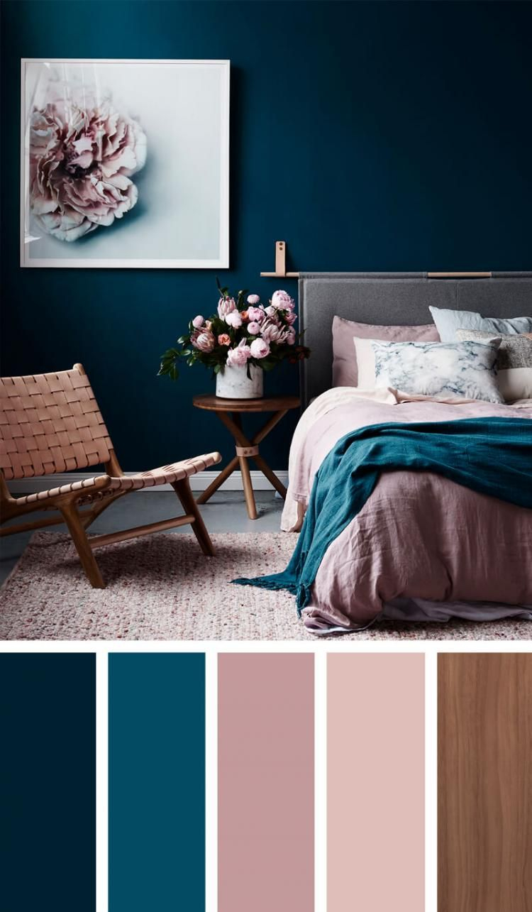 Bedroom Color Inspiration And Project Idea Gallery Blue Things for sizing 750 X 1285