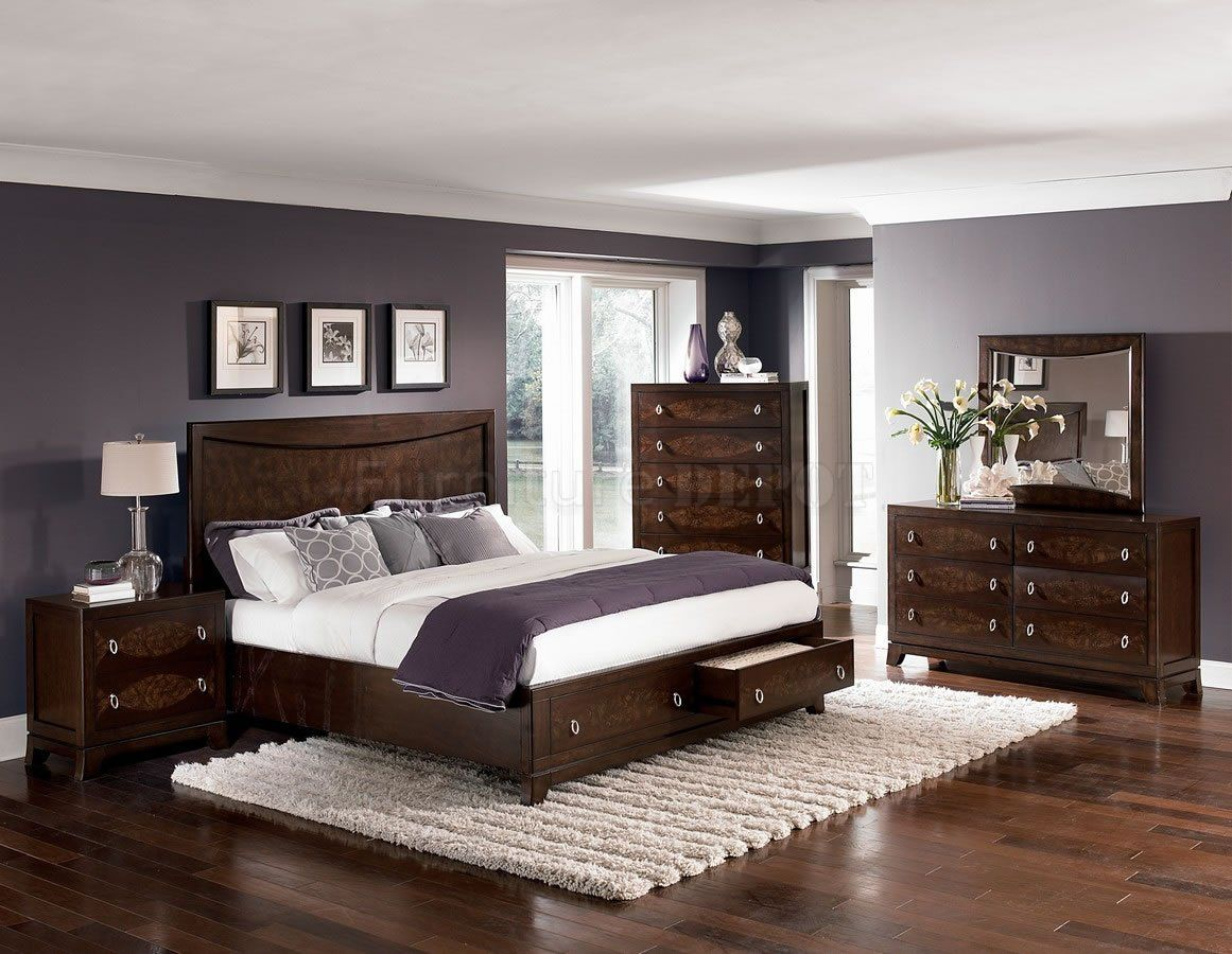 Bedroom Paint Colors With Cherry Furniture Dream Home Wood with measurements 1161 X 900