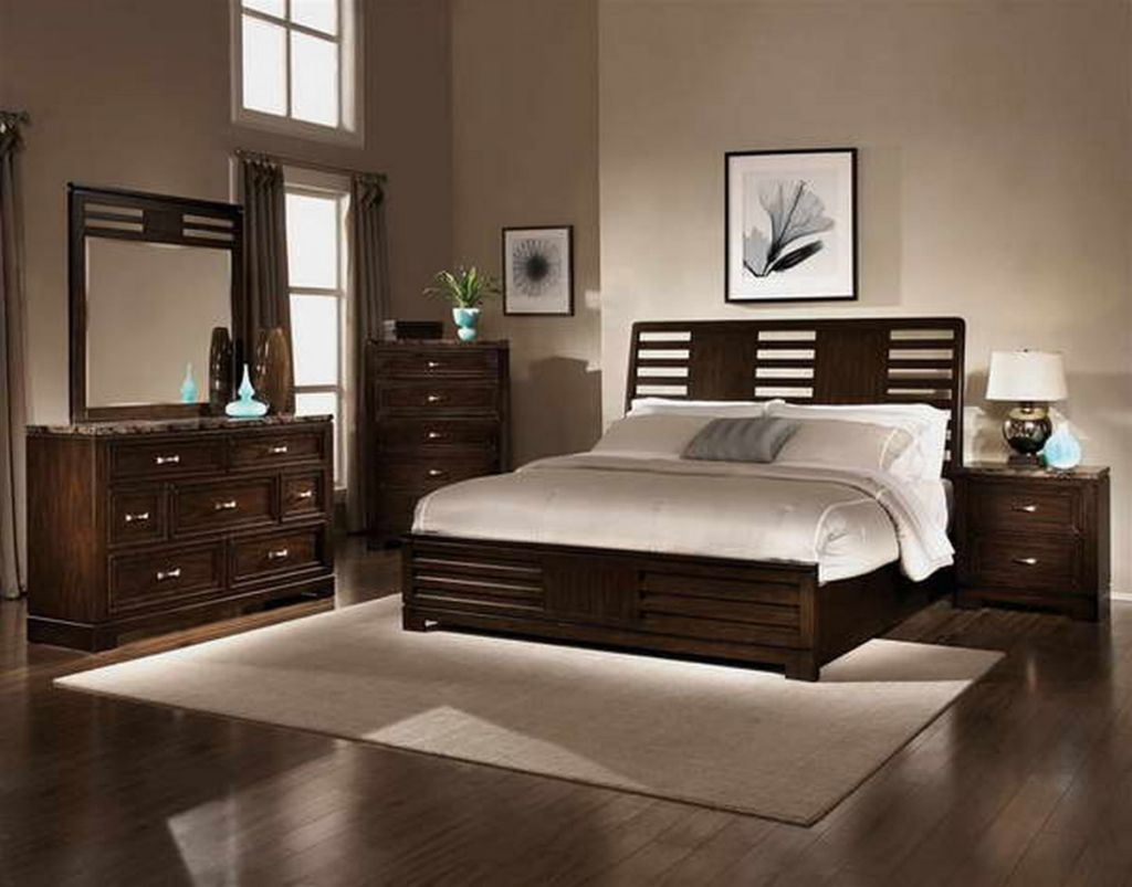 Chocolate Brown Bedroom Furniture Interior Paint Colors Bedroom in dimensions 1024 X 803