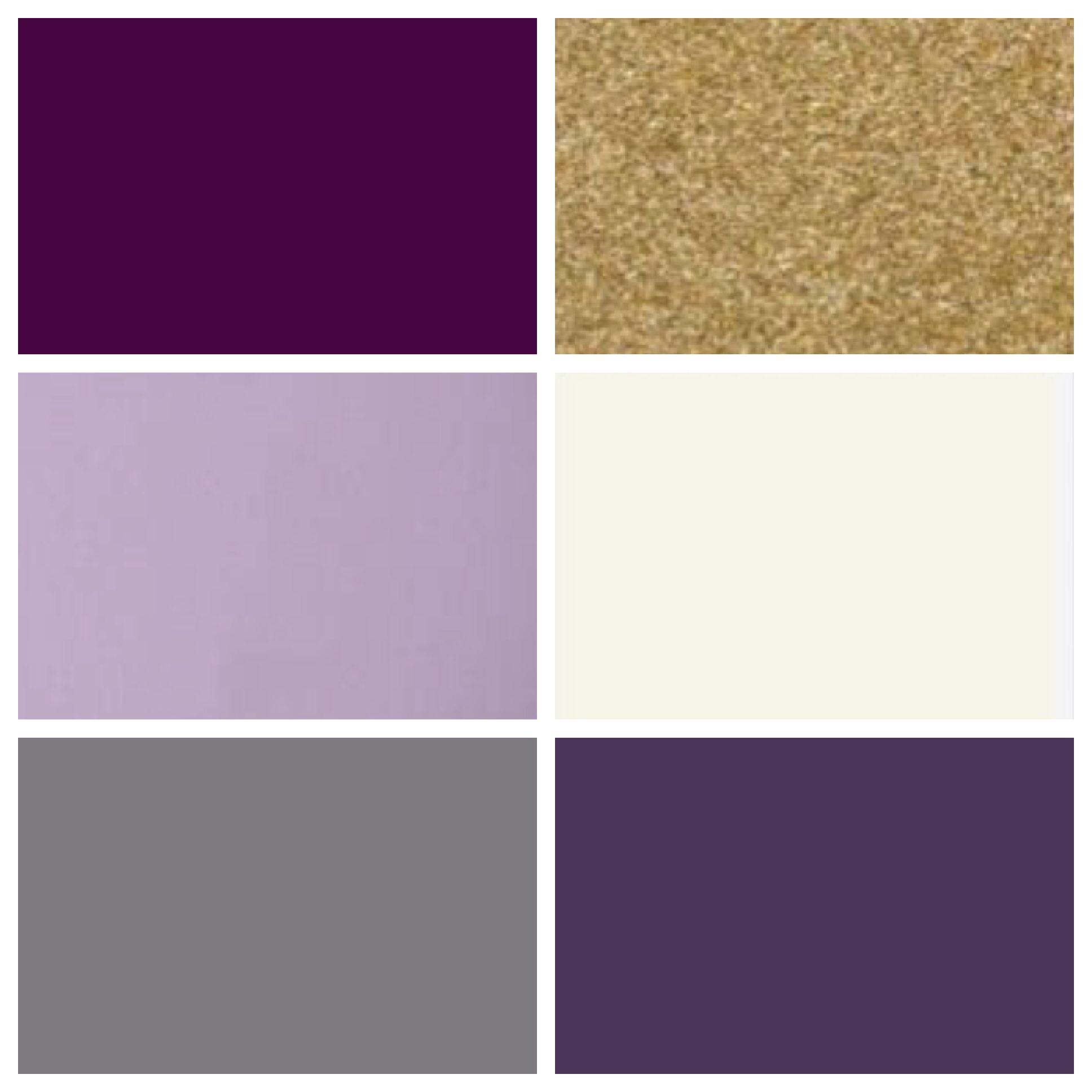 Cj Wedding Color Palette Plum Lilac Gray Gold Cream Eggplant in measurements 1936 X 1936