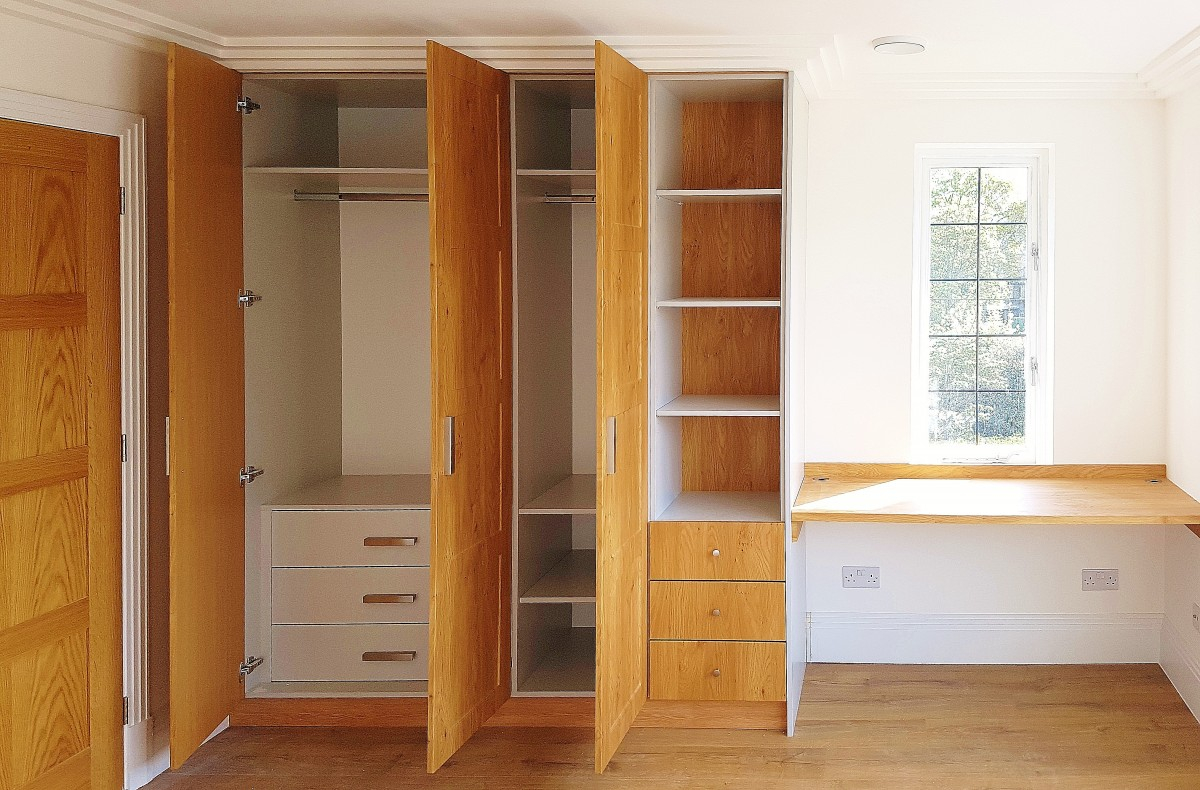 Two Color Bedroom Wardrobe To Achieve A Great Mood Smart Fit for proportions 1200 X 790