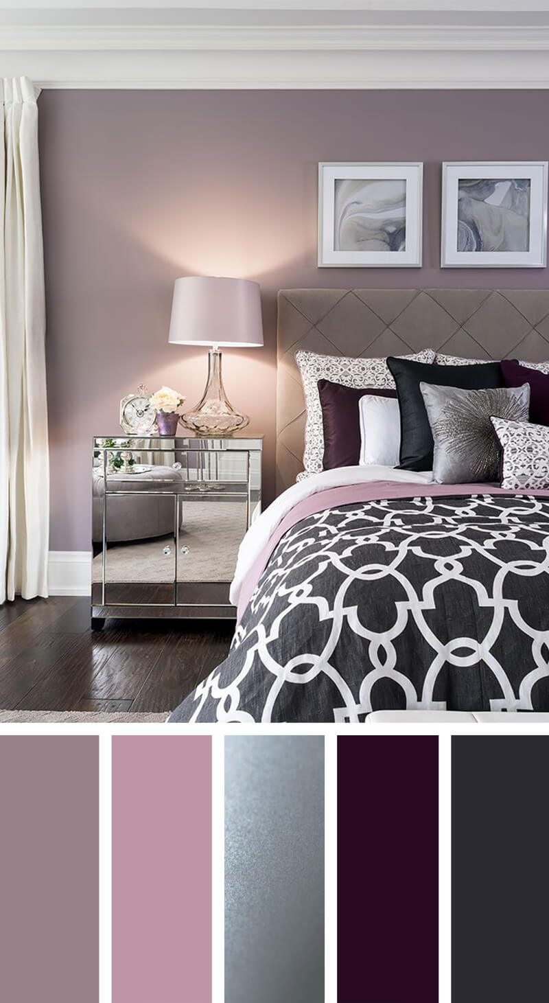 12 Best Bedroom Color Scheme Ideas And Designs For 2019 with sizing 800 X 1461