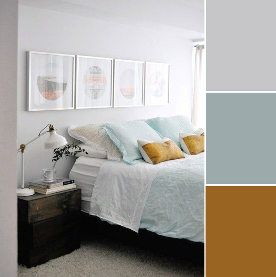 7 Soothing Bedroom Color Palettes for measurements 960 X 965