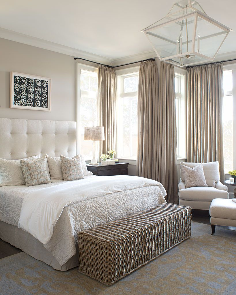 A Peaceful Bedroom Created With Neutral Colors Flowing throughout proportions 819 X 1024