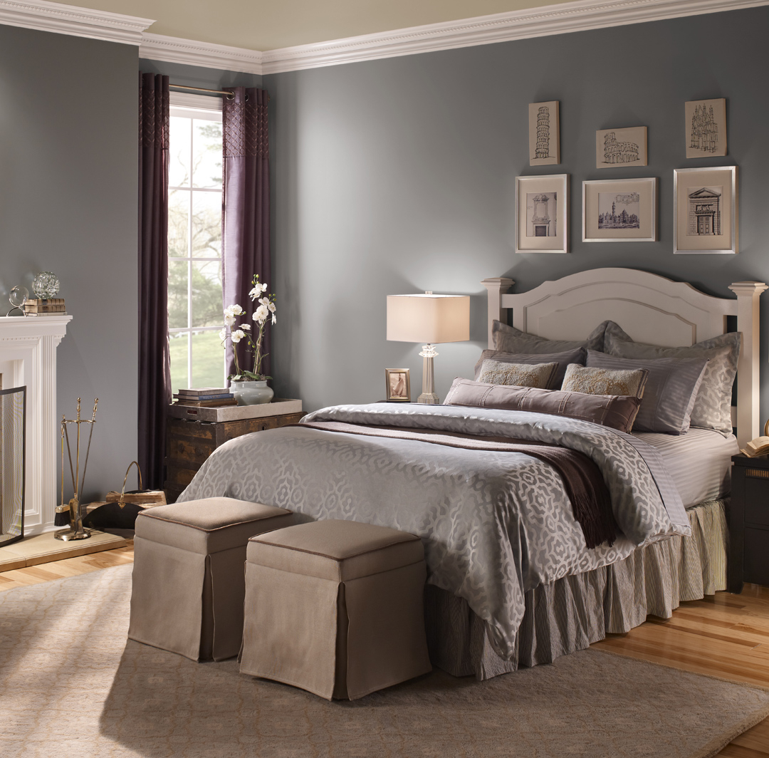 Casual Bedroom Ideas And Inspirational Paint Colors Behr with regard to proportions 1080 X 1064