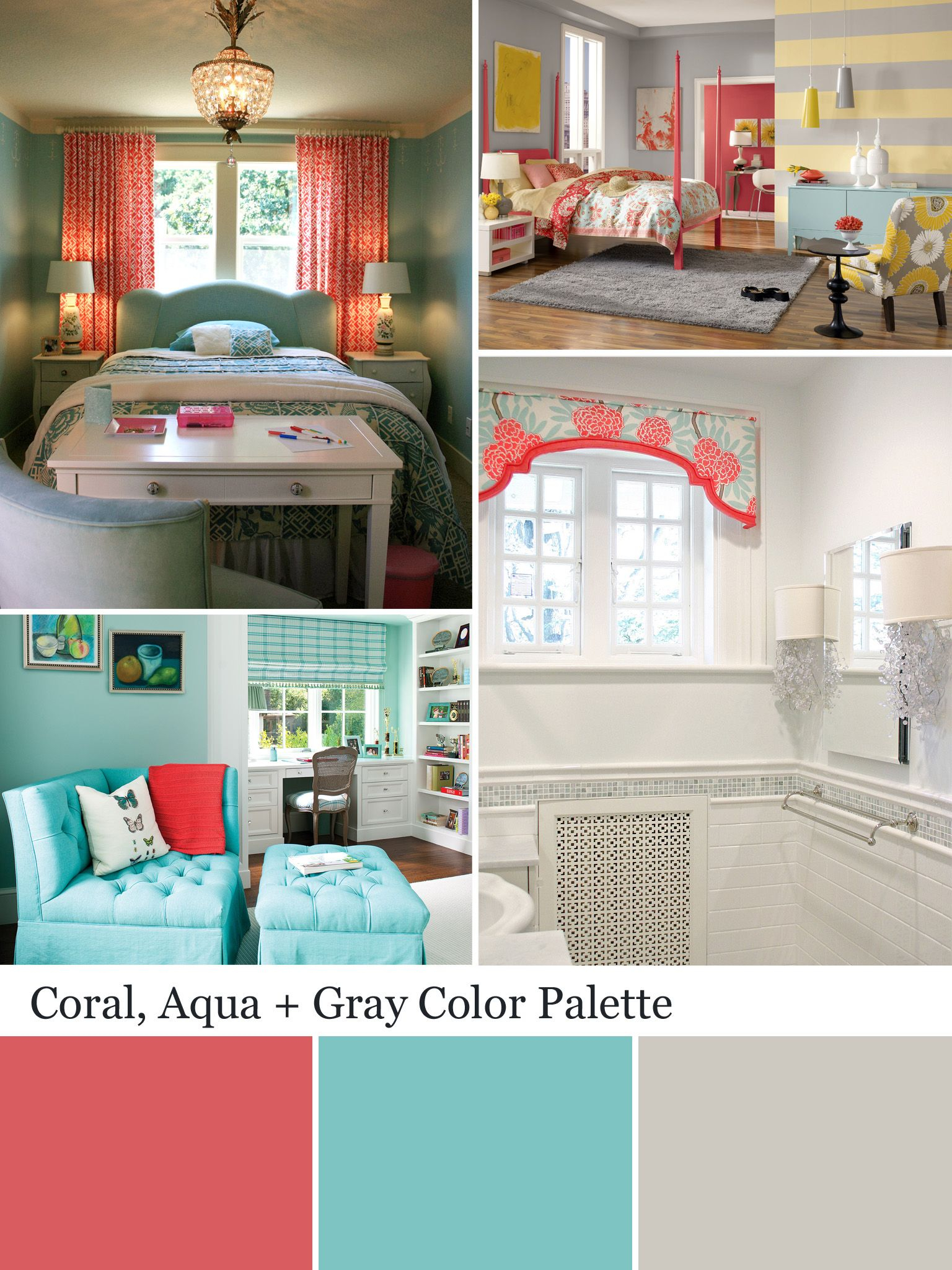 Coral Color Palette Coral Color Schemes Coral Bedroom intended for proportions 1536 X 2048