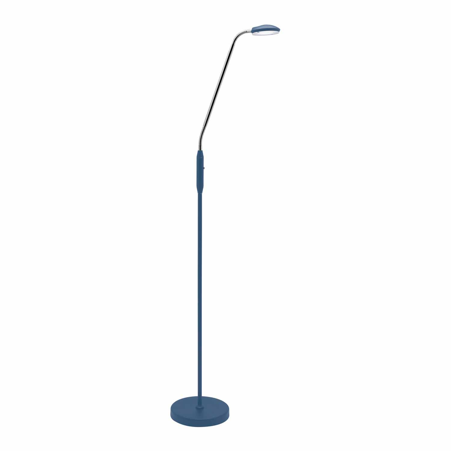 Dylan Led Floor Lamp 6 Watt Navy intended for proportions 1500 X 1500