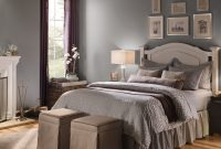 Gray Bedroom Walls Ideas And Inspirational Paint Colors Behr pertaining to sizing 1080 X 1064