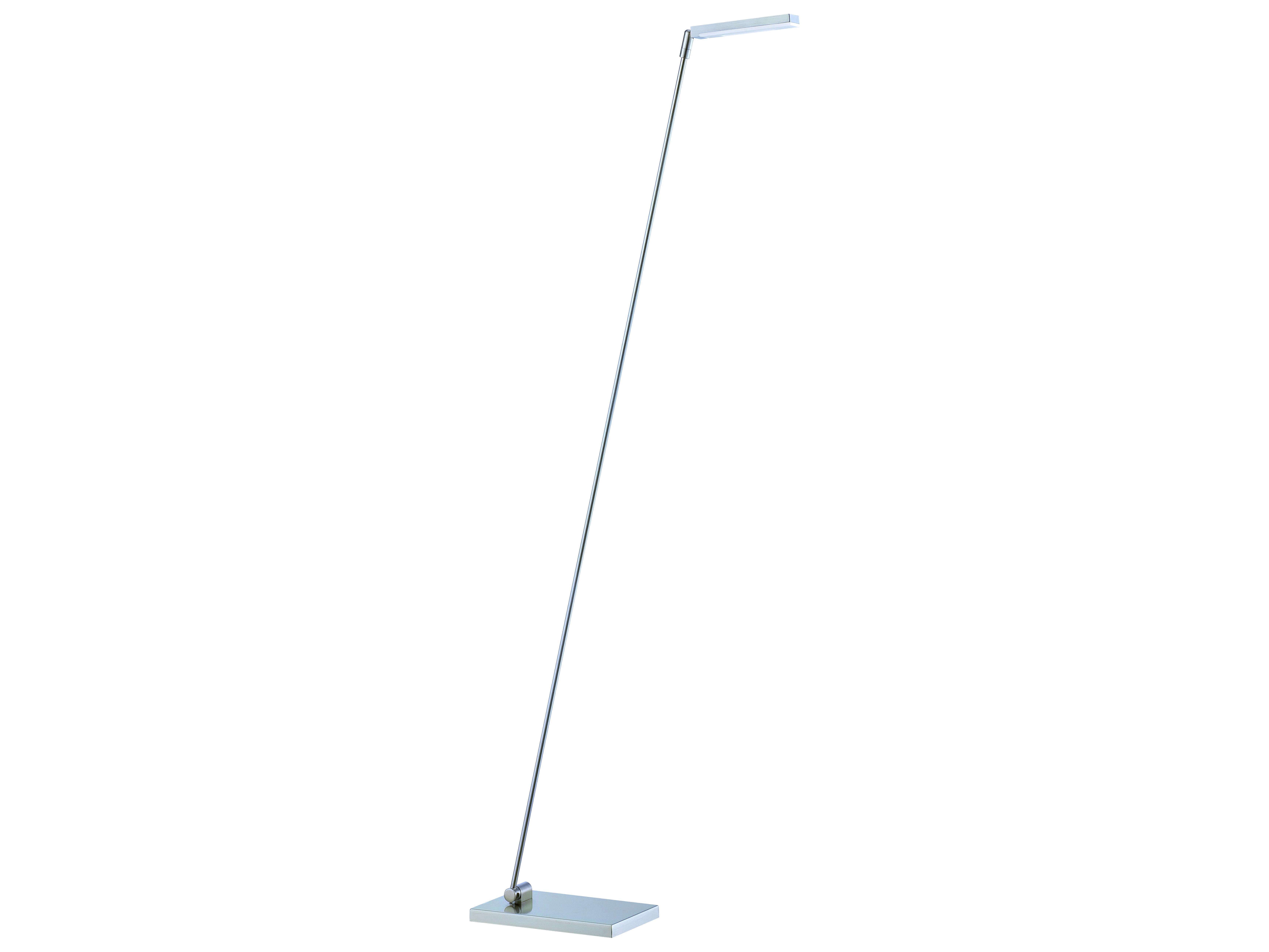 Kendal Lighting Lexx Satin Nickel Led Floor Lamp pertaining to sizing 6917 X 5189