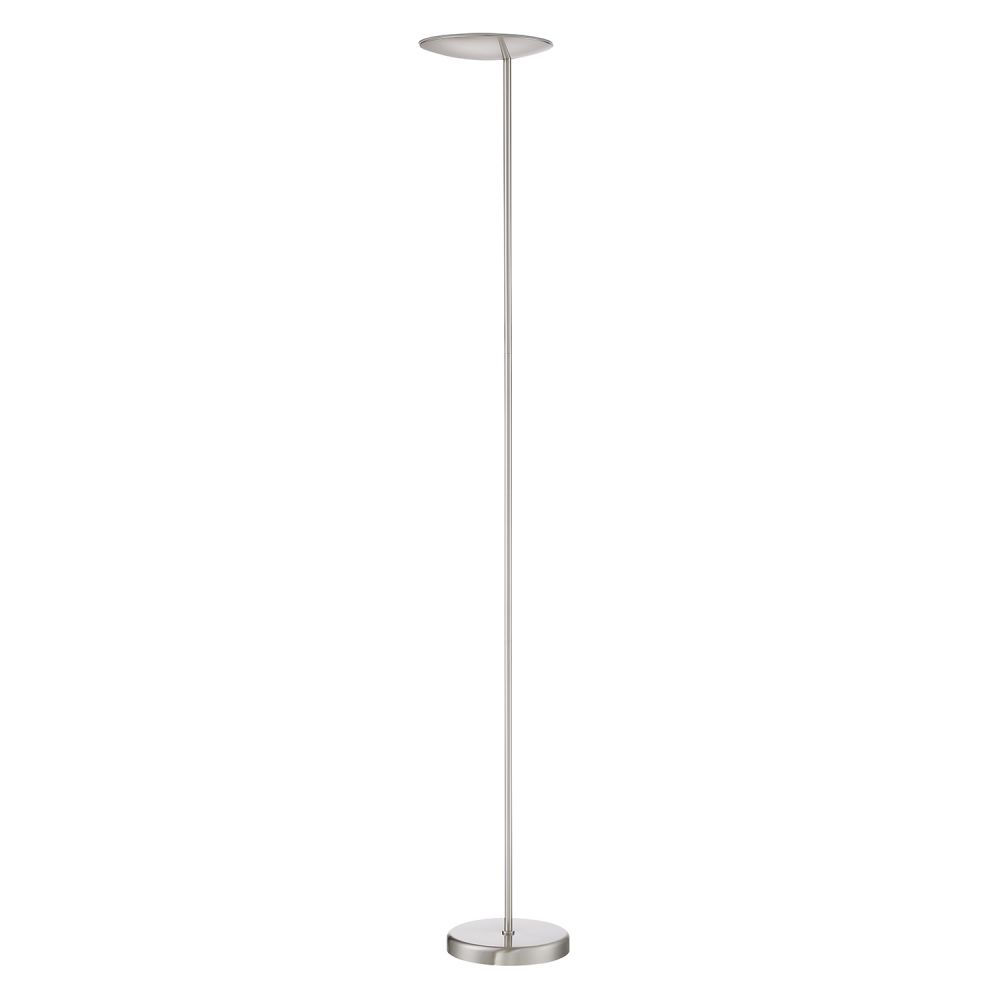 Kendal Tc4096 Sn Ivvo Satin Nickel Floor Lamp with dimensions 1000 X 1000