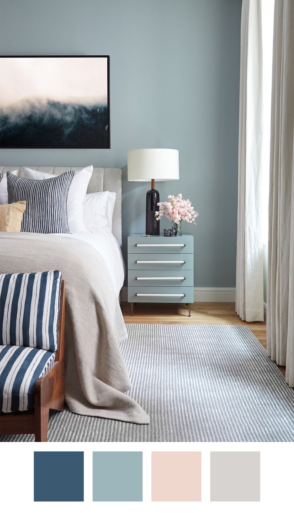 Killer Color Palettes To Try If You Love Blue Chez Moi intended for sizing 1000 X 1741