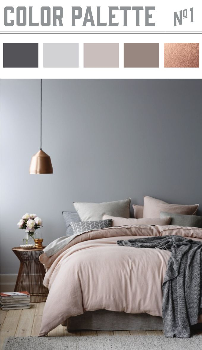 Neutral Copper Color Palette Wiley Valentine Bedroom with regard to sizing 680 X 1180