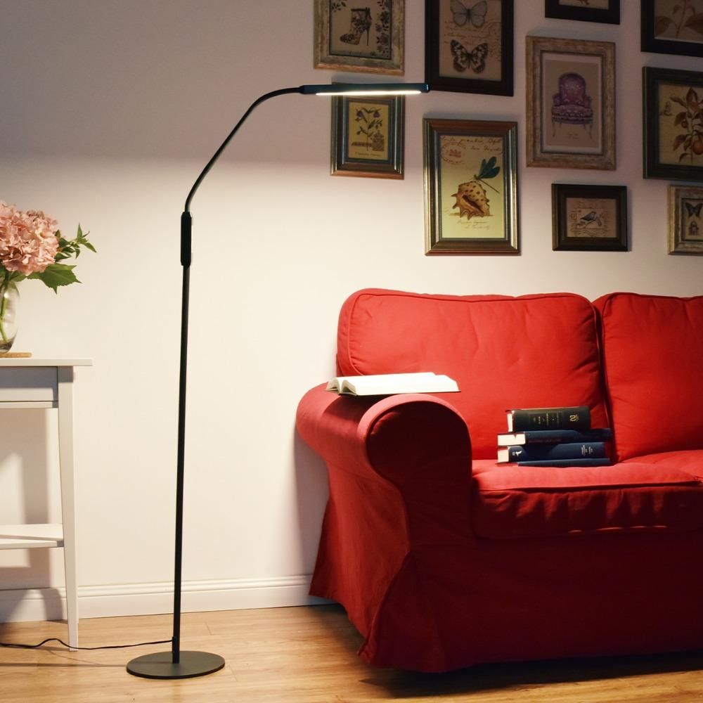 Nordic Eye Protective Led Floor Lamp 8w 5 Level Brightness Modern Stand Light For Living Room Sofa Bedside Reading Piano Lamp inside sizing 1000 X 1000