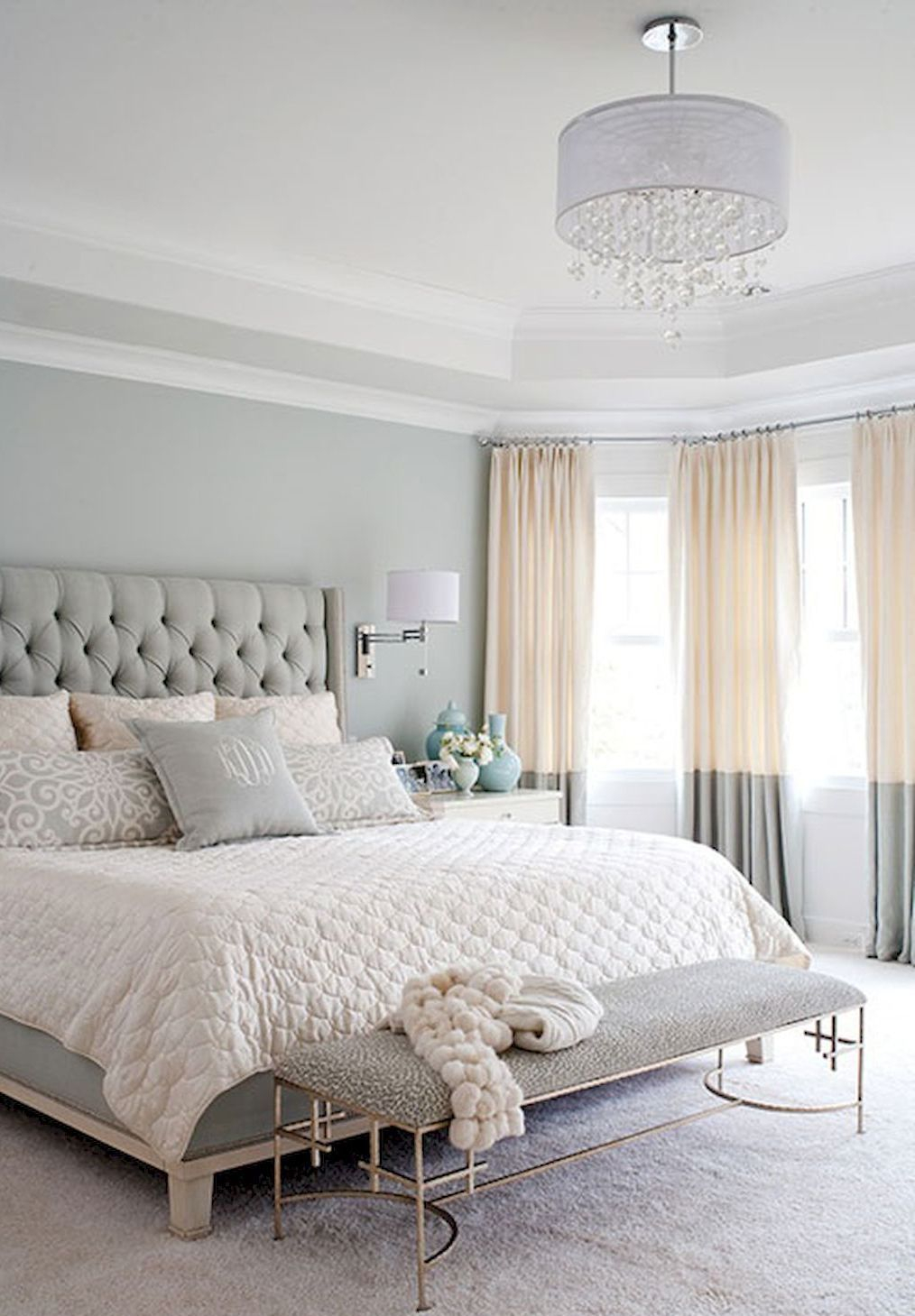 Pin Carly Ellwood On Relaxing Master Bedroom Home with regard to size 1014 X 1459