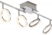 Pro Track Halo 4 Light Chrome Led Track Fixture 8g778 for measurements 1165 X 713