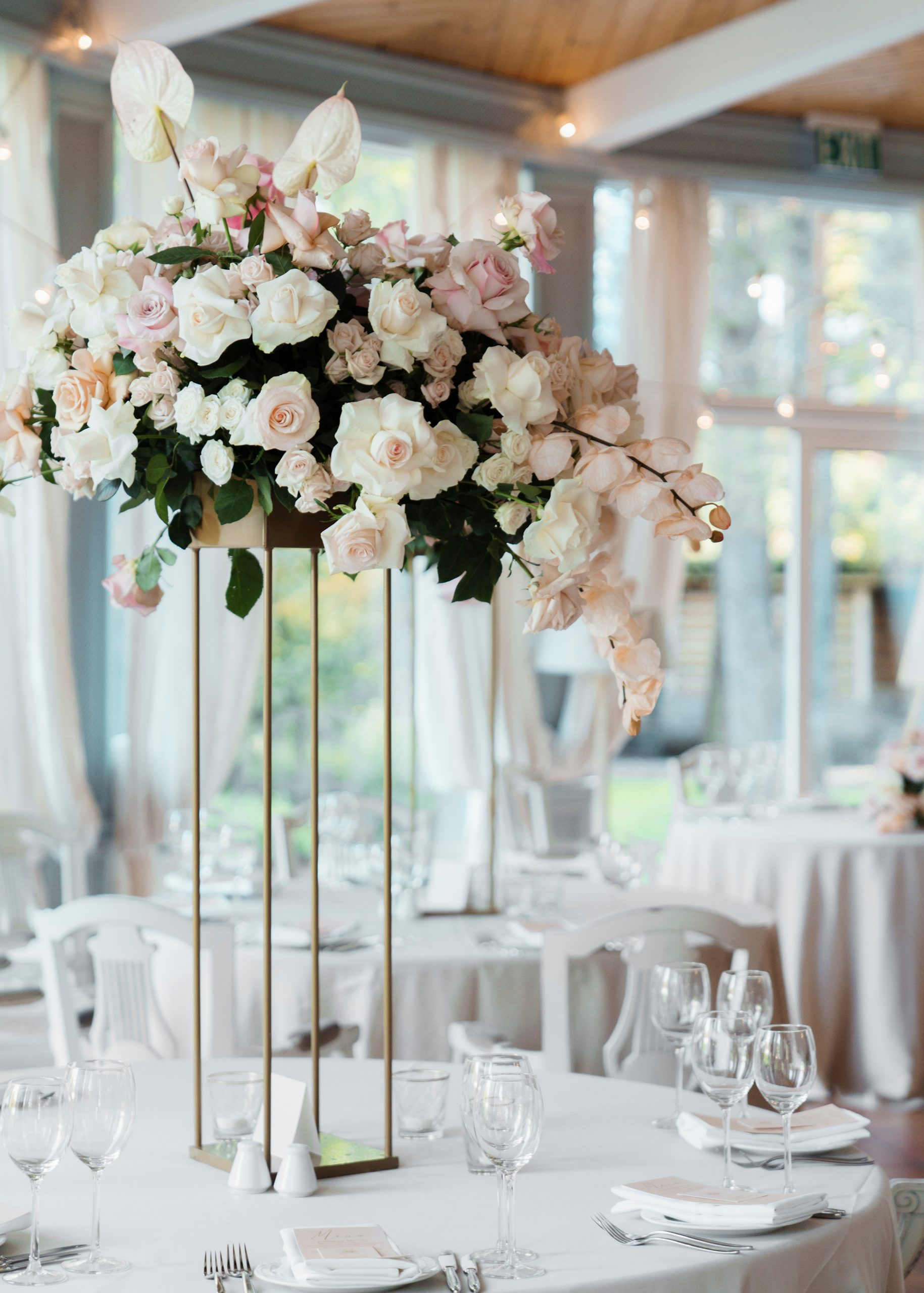 29 Tall Centerpieces That Will Take Your Reception Tables To throughout proportions 2400 X 3360