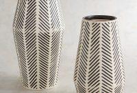 Black White Herringbone Vases Floor Vase Decor Vases Decor pertaining to dimensions 1500 X 1500