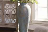 Blue Green Patina Urn Floor Vase Floor Vase Decor Tall throughout dimensions 1500 X 1500