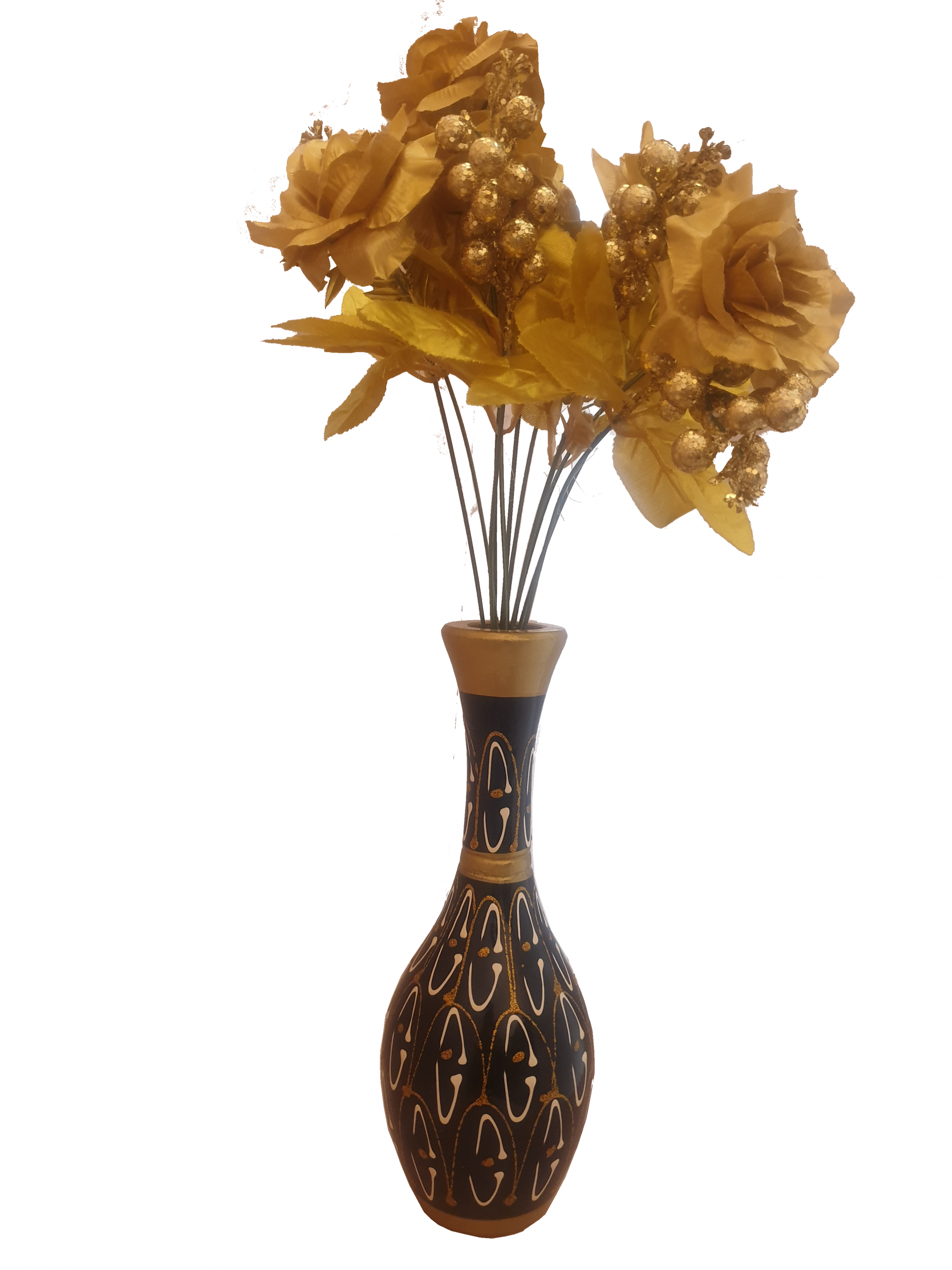 Carved Wooden Flower Vase intended for size 3024 X 4032