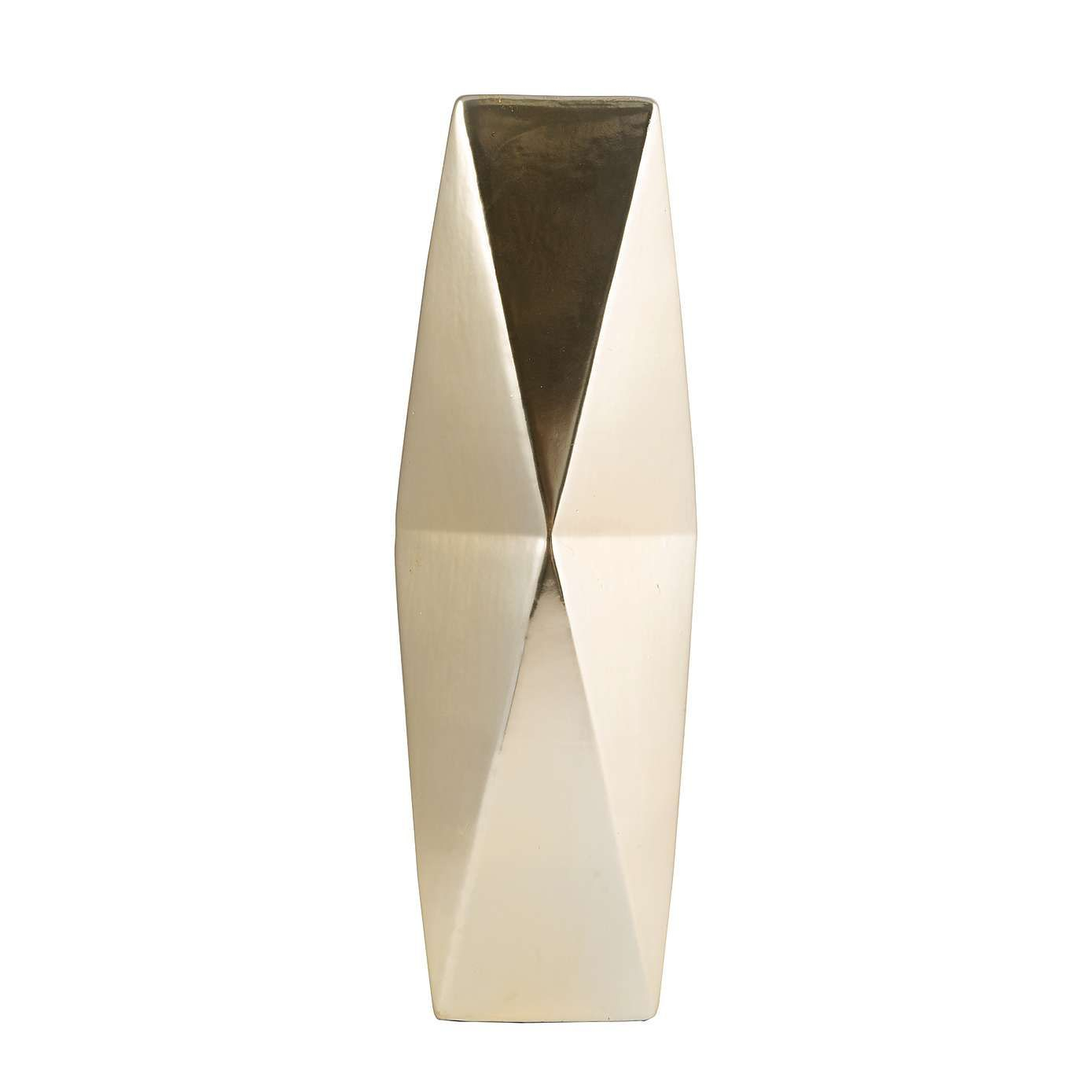 Gold Geometric Vase Dunelm Vase Crafts Vase Vase Shapes regarding sizing 1389 X 1389
