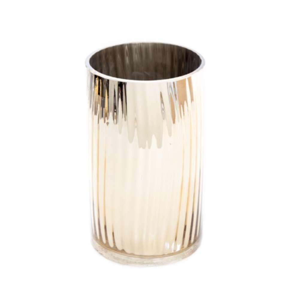 Gold Vase Hire Cylinder Short inside proportions 988 X 984