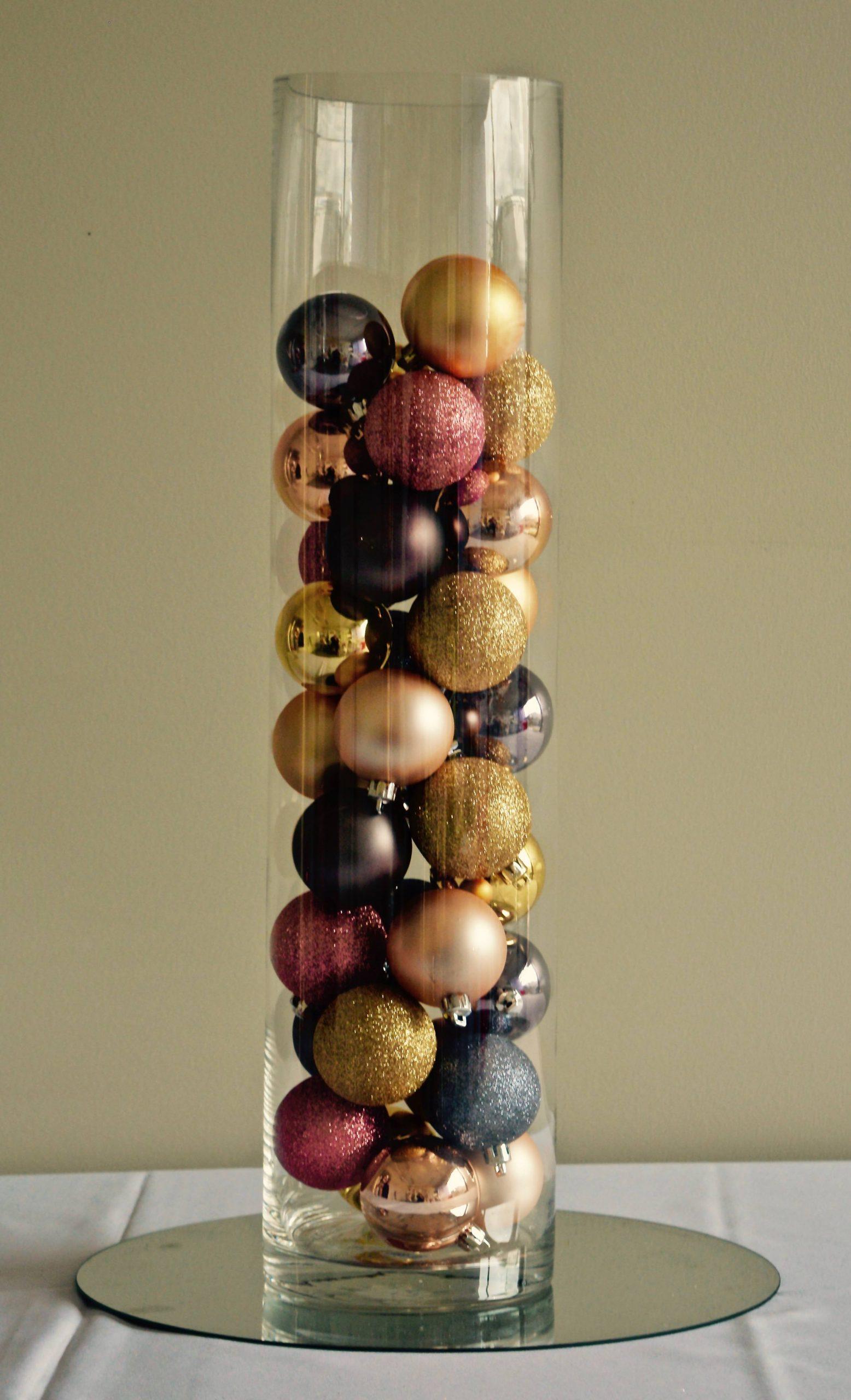 Hire Cylinder Vase 60cm High inside dimensions 2489 X 4096