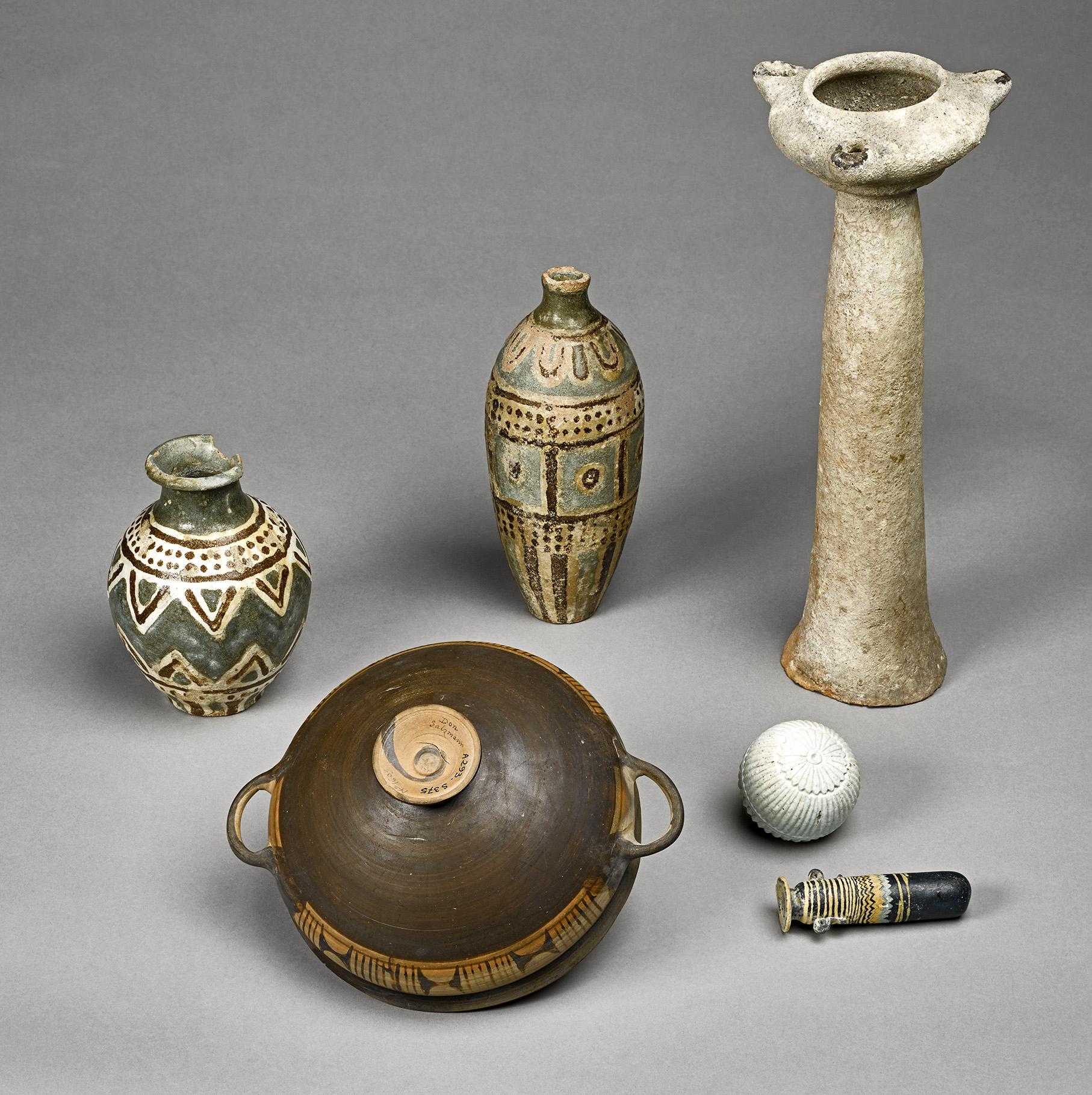 Le Tombeau A De Camiros Les Vases Archaques Et Leurs Contenus in dimensions 1814 X 1819