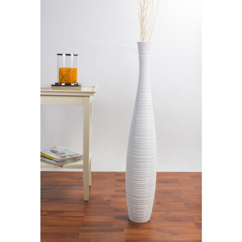 Modern Interior Design With Slim Tall White Floor Vase High pertaining to size 1000 X 1000