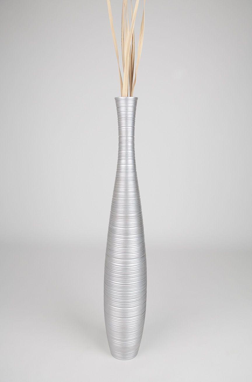 Stylish Silver Floor Vase Tall 36 Inch Wood Bathroom Main Uk within sizing 864 X 1308