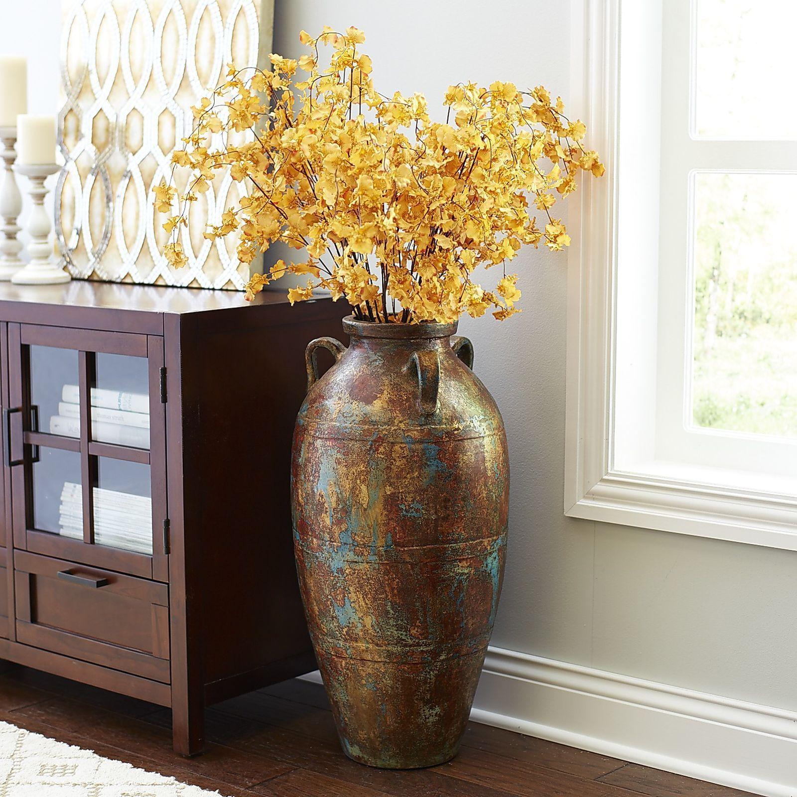 Terracotta Floor Vase Floor Vase Decor Large Floor Vase intended for proportions 1600 X 1600