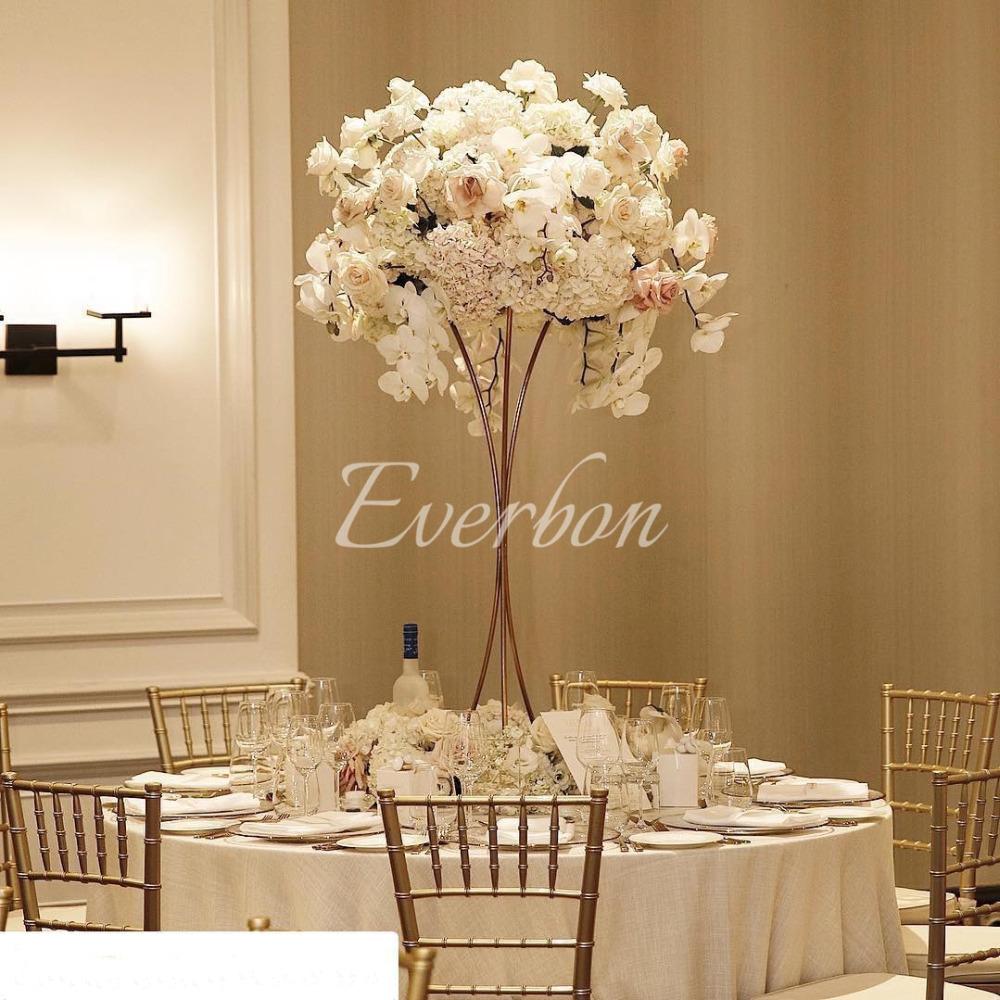 Us 3890 Elegant Wedding Decoration Flower Vase Table Centerpiece Vases Tall Flower Stand Gold Iron Vase Artificial Flower Arrangementparty Diy within proportions 1000 X 1000