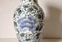 Vintage Flower Vase Marks And Spencer Flower Vases Blue intended for dimensions 2250 X 3000