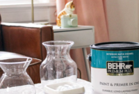 baking soda paint vase